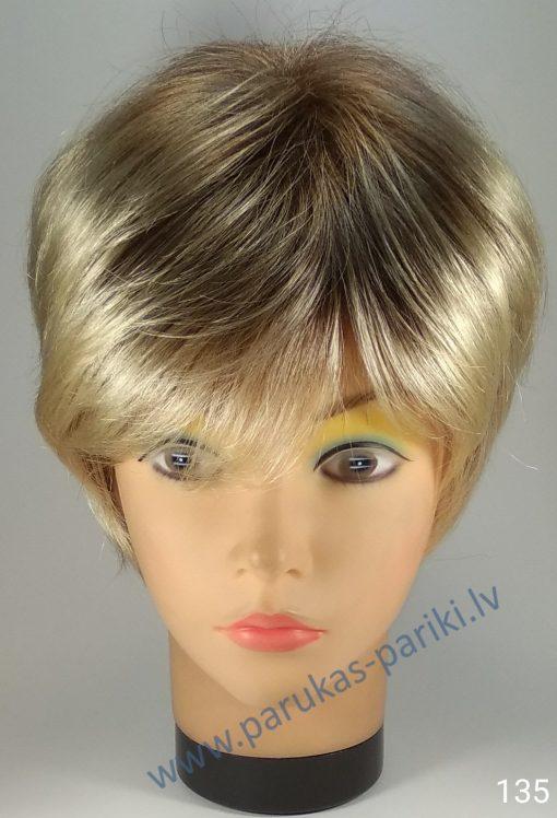 Parūka – īsie sirmie viļņotie mati